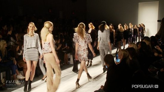 Mixed Prints and a Splash of Sequins at Whitney Eve