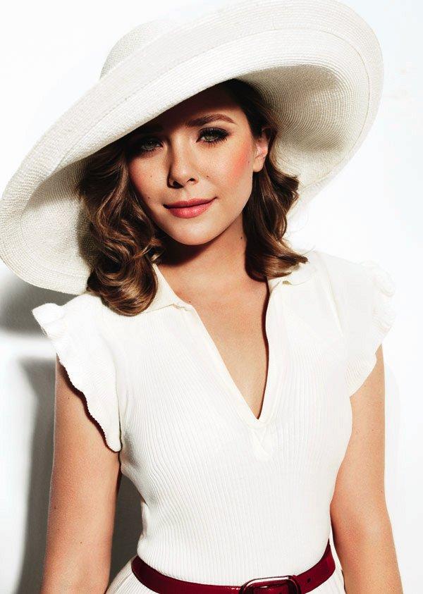 Elizabeth Olsen's Fashion Editorials