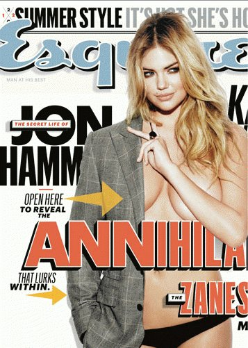 Kate Upton Esquire cover.
