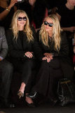 Mary-Kate and Ashley Olsen attended NYFW.