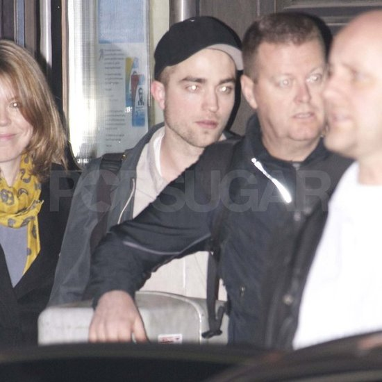 Robert Pattinson Arrives in Berlin Ahead of His Hot Red Carpet Appearance