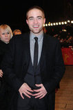 Rob was sexy in a suit at the Bel Ami premier.
