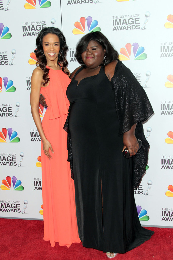 Michelle Williams and Gabourey Sidibe