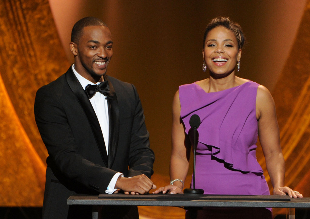 Anthony Mackie and Sanaa Lathan