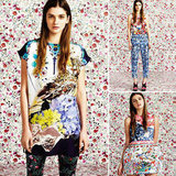 Peep the latest cool-girl Topshop collaboration with designer Mary Katrantzou — so much flower power!