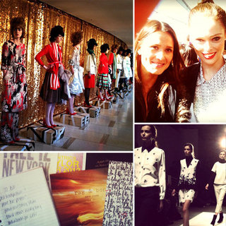 Instagram Photos From New York Fashion Week
