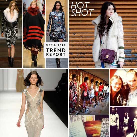 Fab Recap — Fall '12 New York Fashion Week, Grammys Red-Carpet Glam, and More!