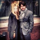 Rachel Zoe and Rodger Berman looked adorable at the Tiffany & Co. event during New York Fashion Week.