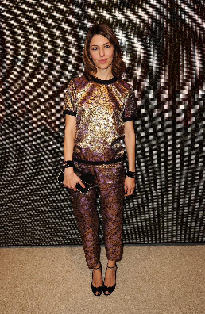 Sofia Coppola attended the Marni at H&M Collection Launch at Lloyd Wright's Sowden House in LA.