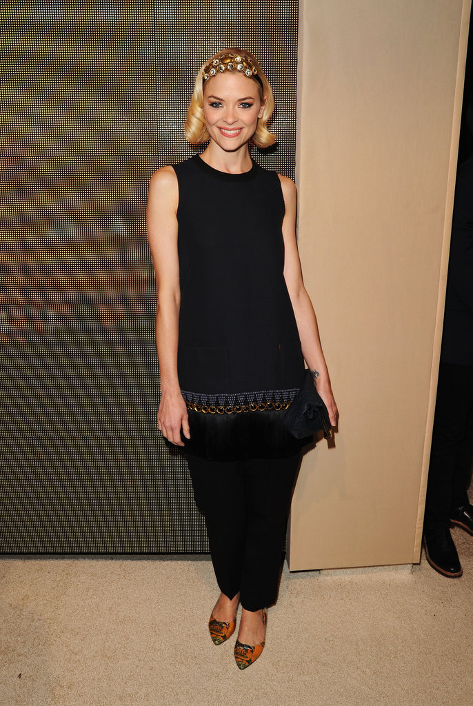 Jamie King attended the Marni at H&M Collection Launch at Lloyd Wright's Sowden House in LA.