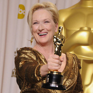 "Meryl Streep Talks ""Streep Fatigue"" at the Oscars"