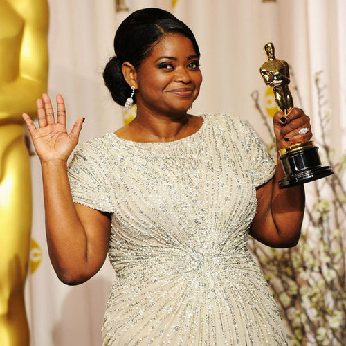 "Octavia Spencer Calls Oscar Win ""Fan-Effing-Tastic"""