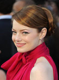 Emma Stone Up Close at the Oscars