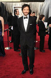 Bret McKenzie looked sleek in a black tuxedo.