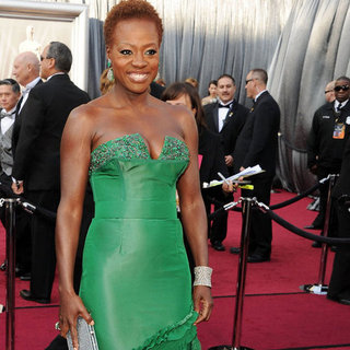 Viola Davis at the Academy Awards 2012