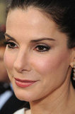 Sandra Bullock smiles at the Academy Awards