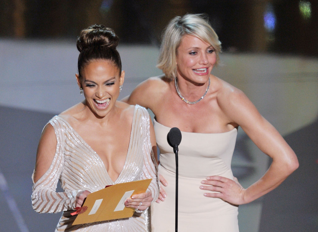 Jennifer Lopez and Cameron Diaz announced the winners.