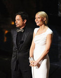 Gwyneth Paltrow and Robert Downey Jr. presented best documentary.