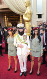 Sacha Baron Cohen was the Dictator, and even successfully pranked Ryan Seacrest on the red carpet.