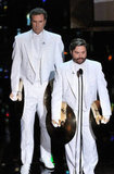 Will Ferrell and Zach Galifianakis performed a skit with cymbals during the show.