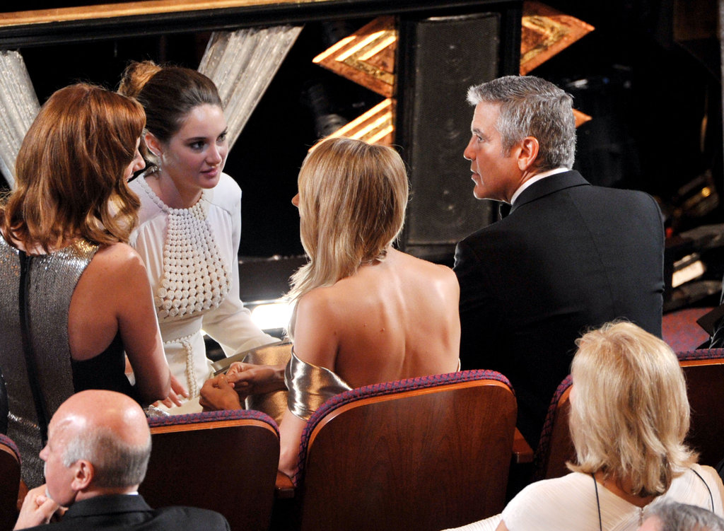 See Which Stars Met Up Inside at the Oscars!