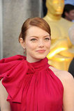 Emma Stone arrives at the 84th Annual Academy Awards