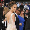 Jennifer Lopez Zuhair Murad Low-Cut Dress Pictures at 2012 Oscars