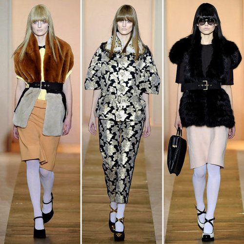 Review and Pictures of Marni Autumn Winter 2012 Milan Fashion Week Runway Show