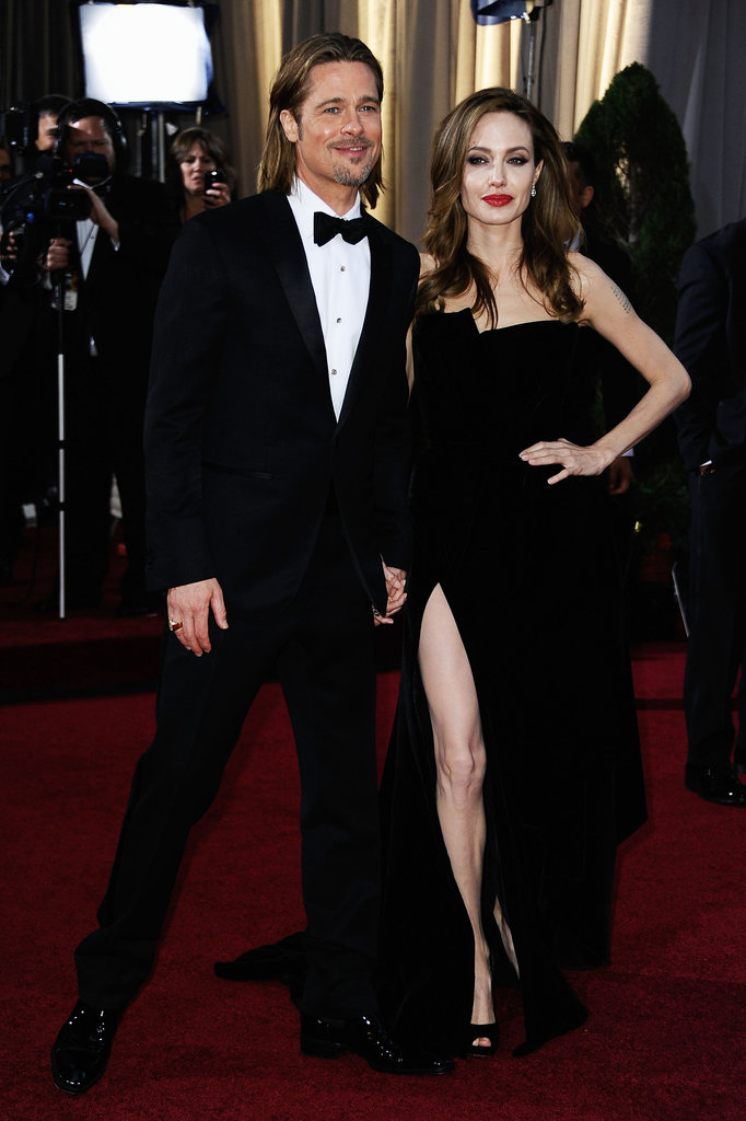 Angelina Jolie and Brad Pitt may just have confirmed their status as the sexiest couple on the planet with their arrival at tonight's awards.