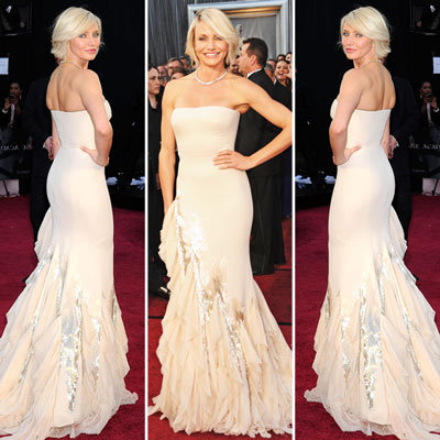 Cameron Diaz at Oscars 2012