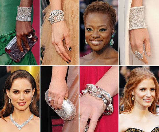 The Oscars' Best Bags and Baubles: All the Accessory Extras!
