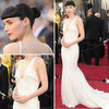 Rooney Mara in Givenchy at Oscars 2012