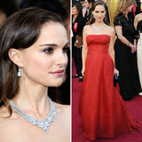 Natalie Portman at Oscars 2012