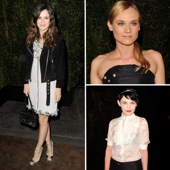 Diane Kruger, Rachel Bilson, Elizabeth Olsen On Hand the Chanel and Charles Finch Pre-Oscars Party: Scope Their Style!