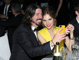 Dave Grohl and Jordyn Blum