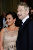 Kenneth Branagh and Lindsay Brunnock