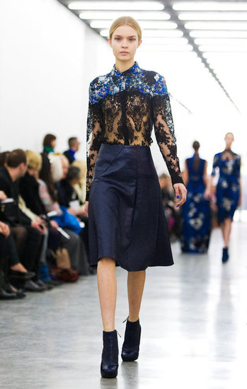 Erdem Runway Fall 2012