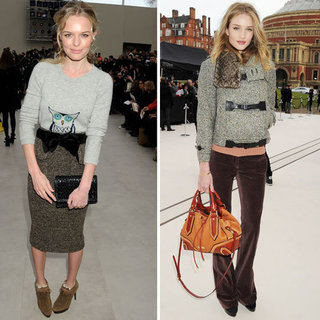 Rosie Huntington-Whiteley Kate Bosworth Burberry Pictures