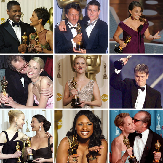 See Past Academy Award Winners Posing With Oscar