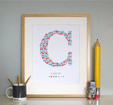 Customizable Monogram Print ($42)
