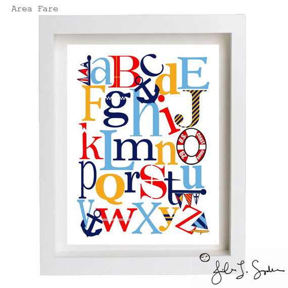 Nautical ABC Print ($15)