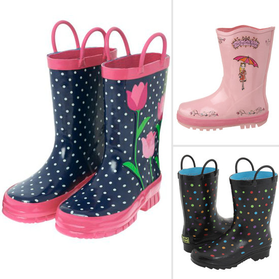 10 Adorable Splash-Ready Rainboots For Girls