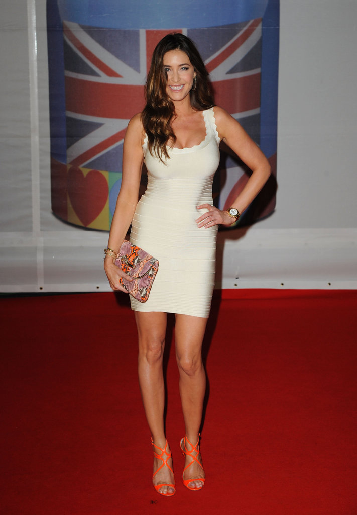 Lisa Snowdon went tight and white.