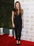 Shailene Woodley attended a Vanity Fair and Juicy Couture bash in LA.