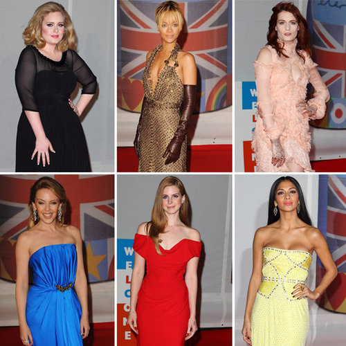 Brit Awards 2012 Red Carpet Pictures