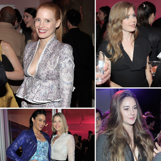 Jessica Chastain and Shailene Woodley Mingle Inside Vanity Fair's Bash