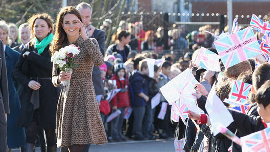 Video: Kate Middleton Sparks Fashion Frenzy and Reveals Puppy's Name During Charity Visit