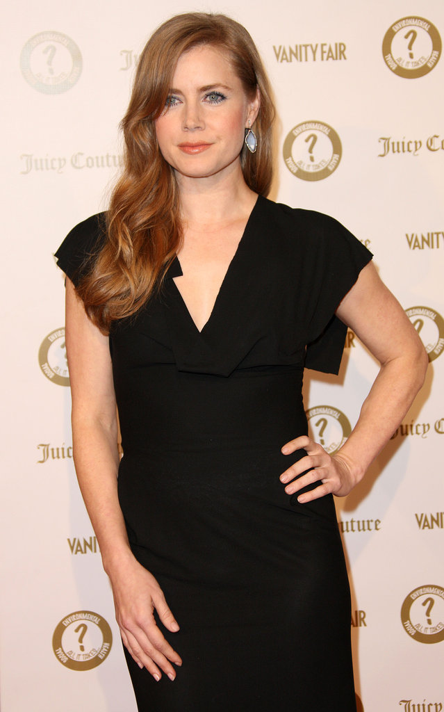 Amy Adams attended a Vanity Fair and Juicy Couture bash in LA.