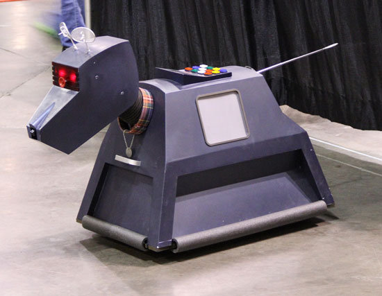 He may not be from Star Wars, but Doctor Who's favorite robot K-9 made a MegaCon appearance.  Source: Flickr User gordontarpley