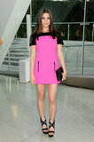 A bright Michael Kors mini at the 2011 CFDA Awards.